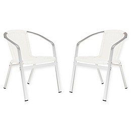 Safavieh Wrangell All-Weather Stacking Armchairs