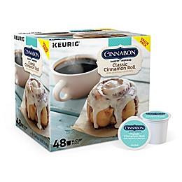 Cinnabon® Classic Cinnamon Roll Flavored Coffee Keurig® K-Cup® Pods 48-Count