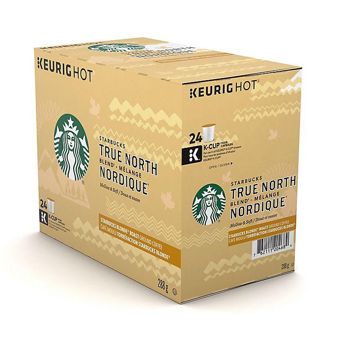 Alternate image 1 for Starbucks® True North Blend Coffee Keurig® K-Cup® Pods 24-Count