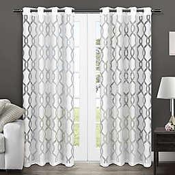 Rio Grommet Top Window Curtain Panel Pair
