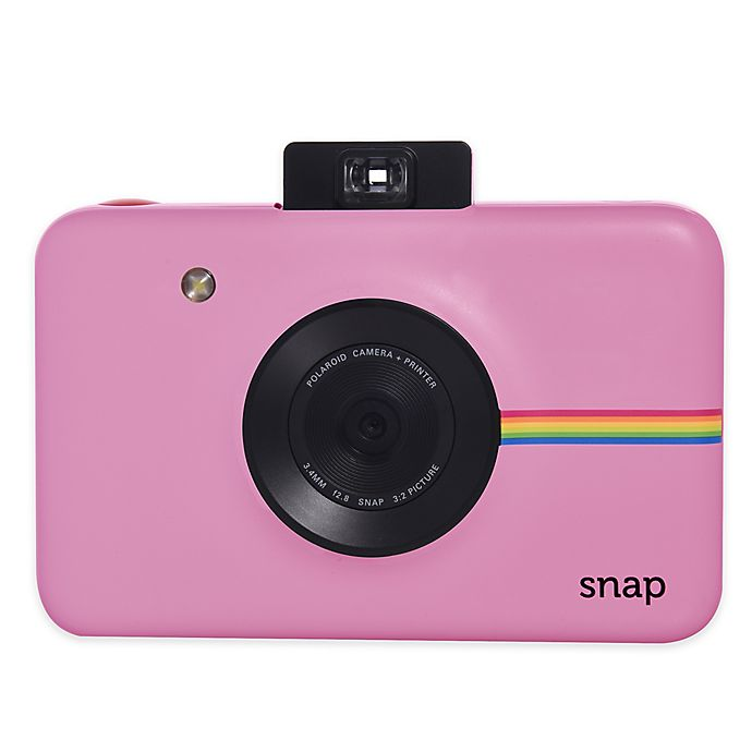 Alternate image 1 for Polaroid Snap Instant Digital Camera in Blush Pink