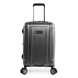 6e05a643bc61 Original Penguin® Crest 21-Inch Rolling Hardside Carry On Spinner in  Charcoal
