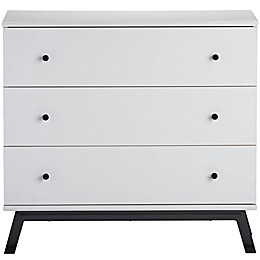Little Seeds Rowan Valley Lark Urban 3-Drawer Dresser in White
