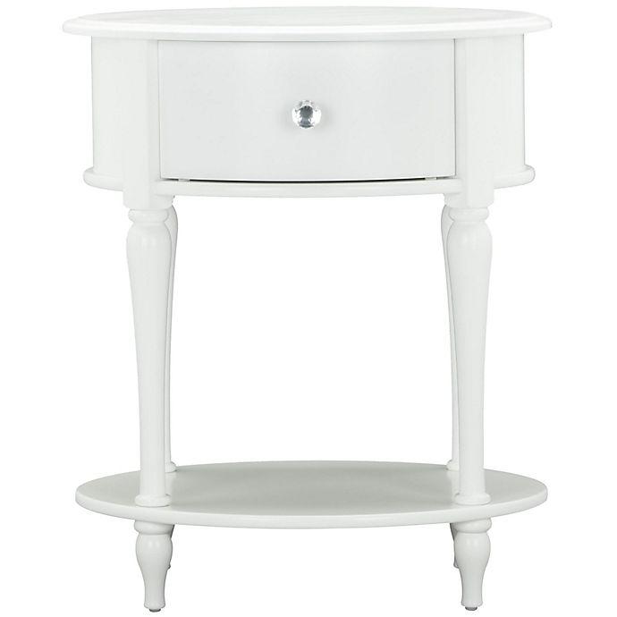 Alternate image 1 for Little Seeds Rowan Valley Laren Oval Nightstand in White