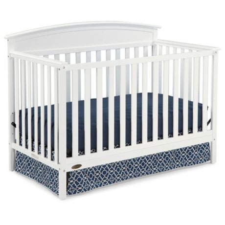 Graco Benton 4 In 1 Convertible Crib In White Buybuy Baby