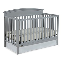 Graco® Benton 4-in-1 Convertible Crib in Pebble Grey