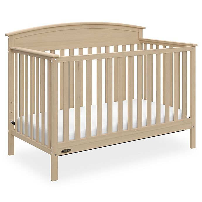 Alternate image 1 for Graco® Benton 4-in-1 Convertible Crib in Driftwood