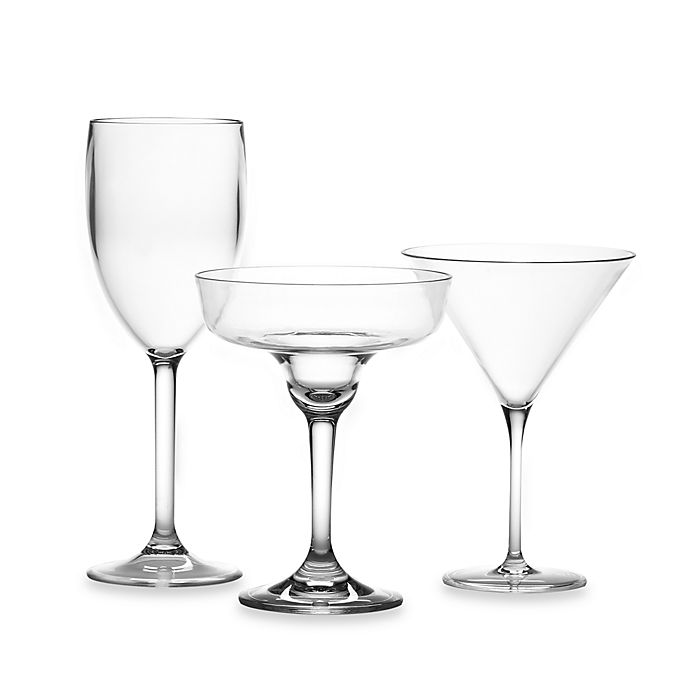 e567c3e8e7a Clear Acrylic Wine Glass | Bed Bath & Beyond