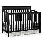 Graco® Stanton 4-in-1 Convertible Crib in Black