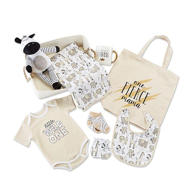 Alternate image 1 for Baby Aspen® 9-Piece Safari Gift Set