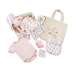 Baby Aspen® 9-Piece Fancy Floral Gift Set