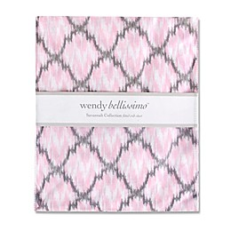 Wendy Bellissimo™ Savannah Fitted Crib Sheet