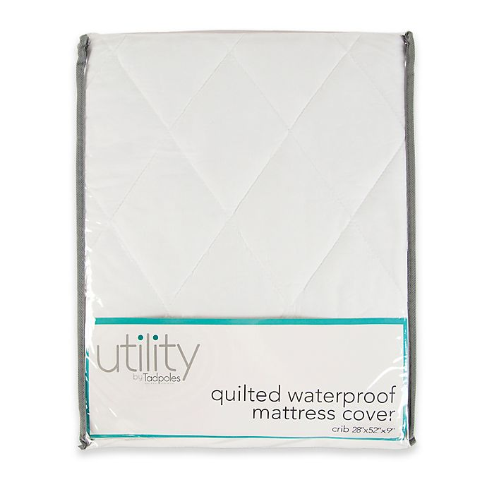 Alternate image 1 for Tadpoles Quilted Waterproof Mattress Cover