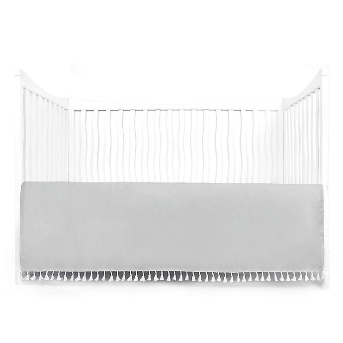 Alternate image 1 for Tadpoles Crib Skirt with Tassels