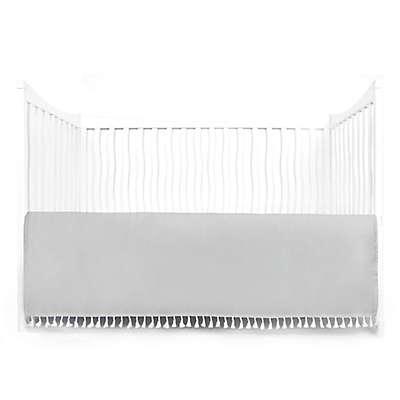 Tadpoles Crib Skirt with Tassels