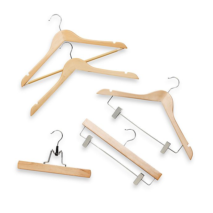 Alternate image 1 for Natural Wood Hangers