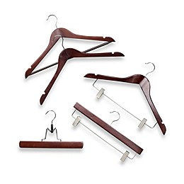 Wood Clothing Hangers Collection