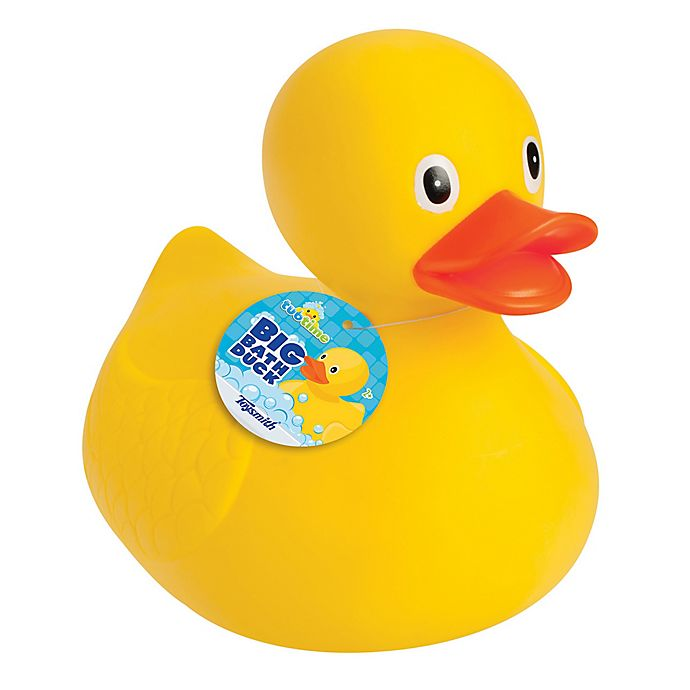 Alternate image 1 for Toysmith Big Bath Rubber Duck in Yellow