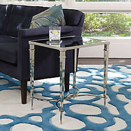 Rectangular French Square Leg Accent Table