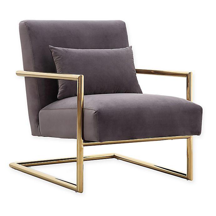 Alternate image 1 for TOV Furniture Elle Velvet Chair