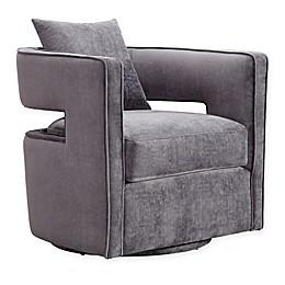 TOV Furniture Velvet Swivel Kennedy Chair