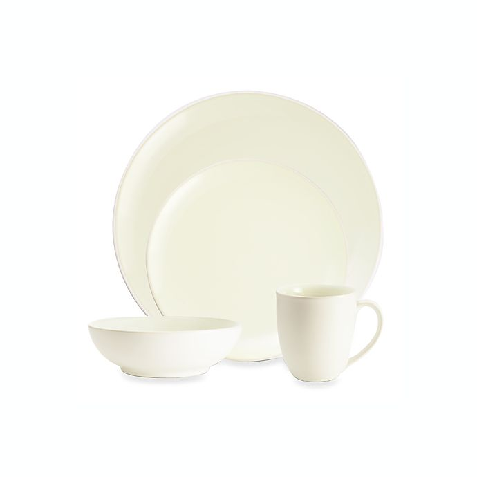 Alternate image 1 for Noritake® Colorwave Coupe Dinnerware Collection in White