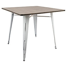 LumiSource Oregon Dining Table in Espresso