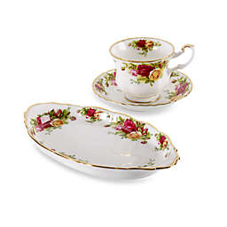 Royal Albert Old Country Roses 9-Piece Tea Set