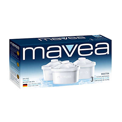MAVEA Maxtra 3-Pack  Premium  Water Filter