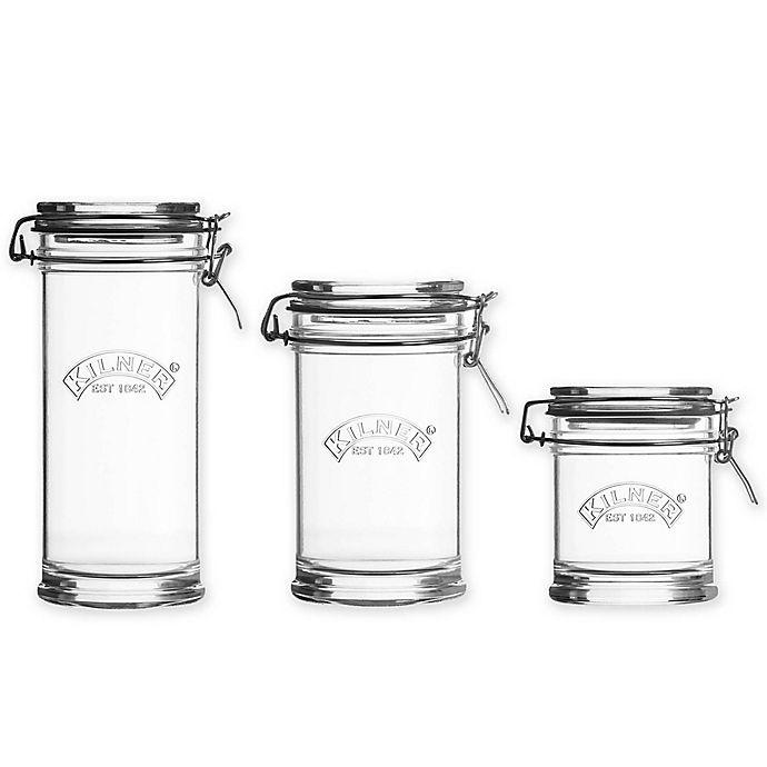 Alternate image 1 for Kilner® Signature Clip Top Jar
