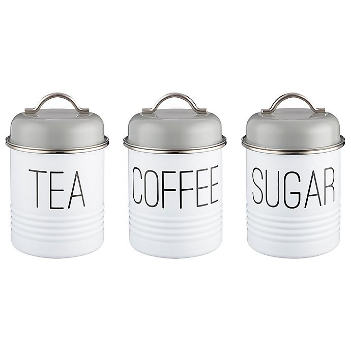 Portland Canisters Set Of 3: Typhoon® Vintage Mayfair 3-Piece Canister Set