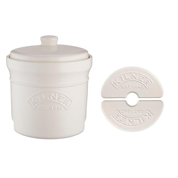Alternate image 1 for Kilner® 4-Piece Ceramic Fermentation Crock Set