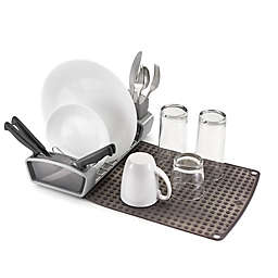 Polder® 3-Piece Fold-Away Compact Dish Rack Set