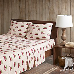 Woolrich® Cars Flannel Sheet Set
