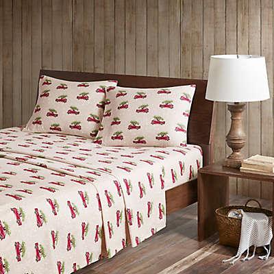 Woolrich® Cars Flannel Sheet Set