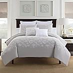 Bridge Street Anabelle Reversible Full/Queen Comforter Set in Grey