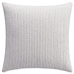 Bridge Street Clover Square Throw Pillow in Stone
