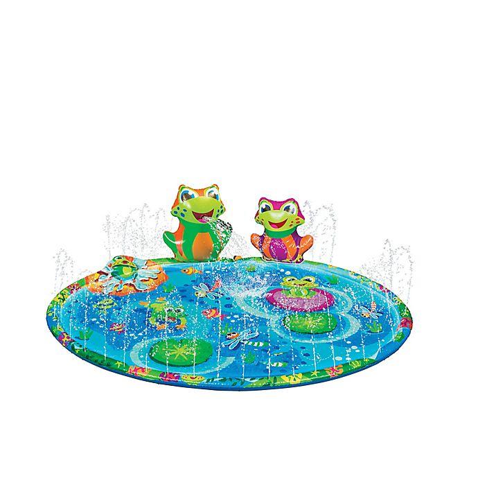 Alternate image 1 for Banzai Froggy Pond Splash Mat