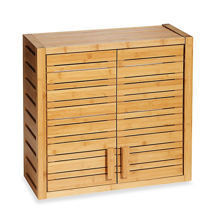 Alternate image 1 for Bamboo Wall Cabinet