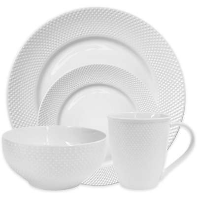 Elle Decor® Chloe Dinnerware Collection in White