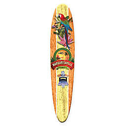 Margaritaville® Tequila Surfboard 10.5-Inch x 26-Inch Wall Art with Bottle Opener in Yellow