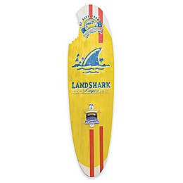 Margaritaville® Landshark 6.5-Inch x 24-Inch Wall Art with Bottle Opener in Red