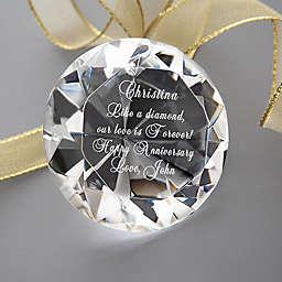She's A Gem! Engraved Diamond Keepsake Paperweight