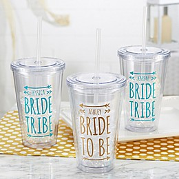 Bride Tribe Wedding Insulated Tumbler