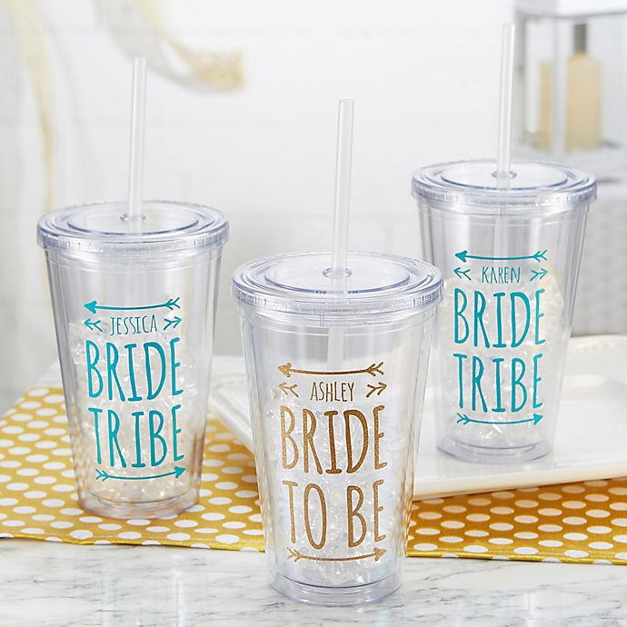Alternate image 1 for Bride Tribe Wedding Insulated Tumbler