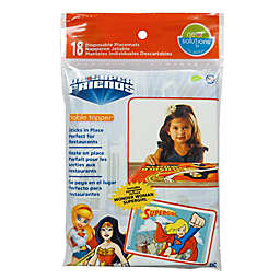 DC Comics™ Super Friends 18-Count Table Toppers® in Pink