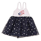 Baby Starters® Size 18M Flag Bodysuit Dress in Navy
