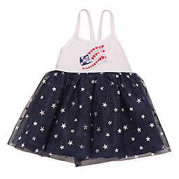 Baby Starters® Flag Bodysuit Dress in Navy