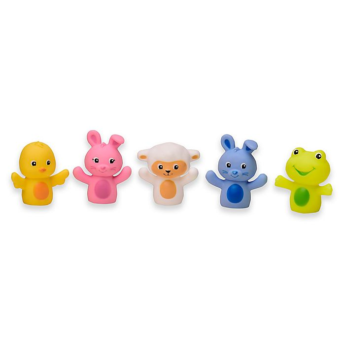 Alternate image 1 for Magic Years 5-Pack Easter Bath Finger Puppets