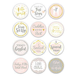 The PeanutShell™ Baby Firsts Milestone Stickers